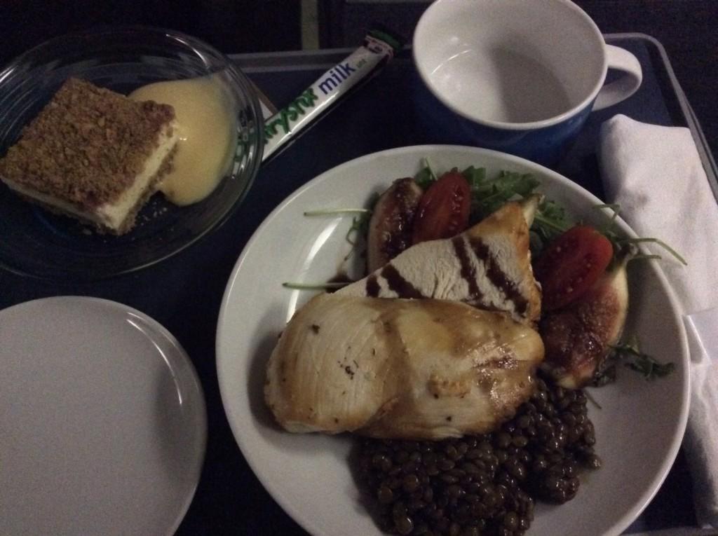 BA meal LCY-DUB