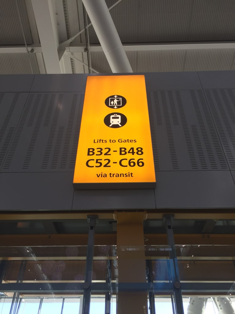 Lifts to LHR T5 transit