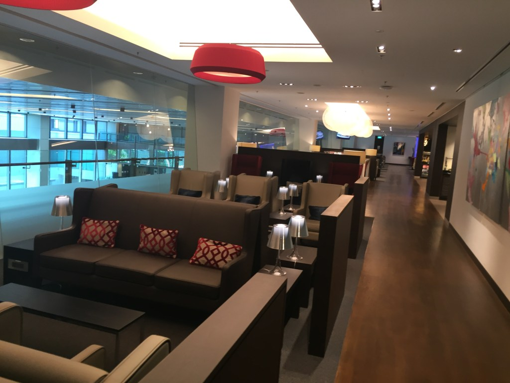 BA Lounge Singapore