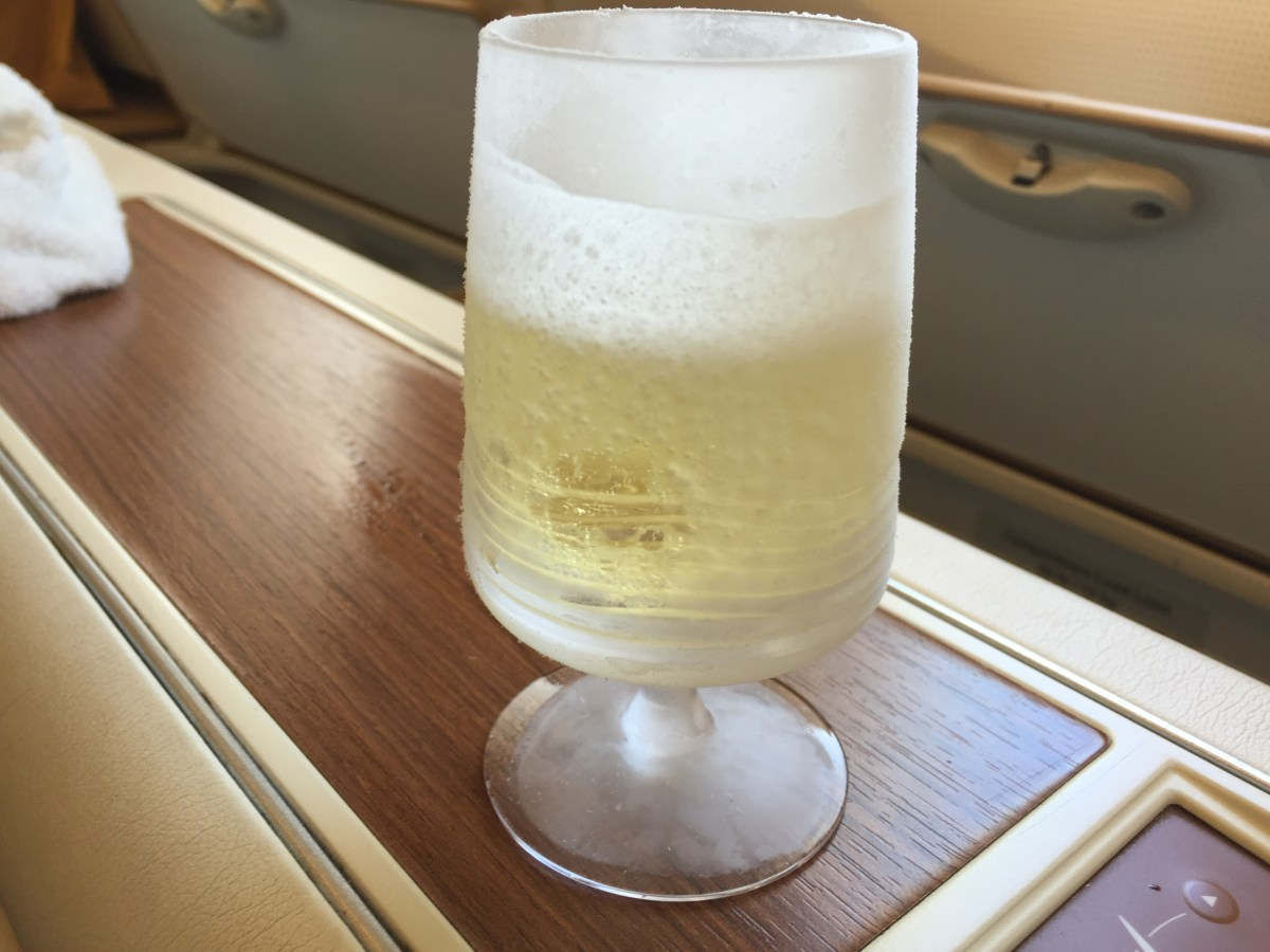 Review: Thai air First Class London to Bangkok