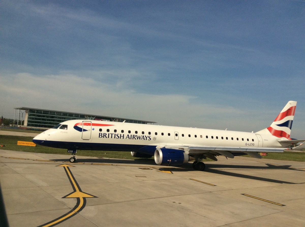 Double Avios on BA Regional Routes - book by 12 June, travel by 25 November