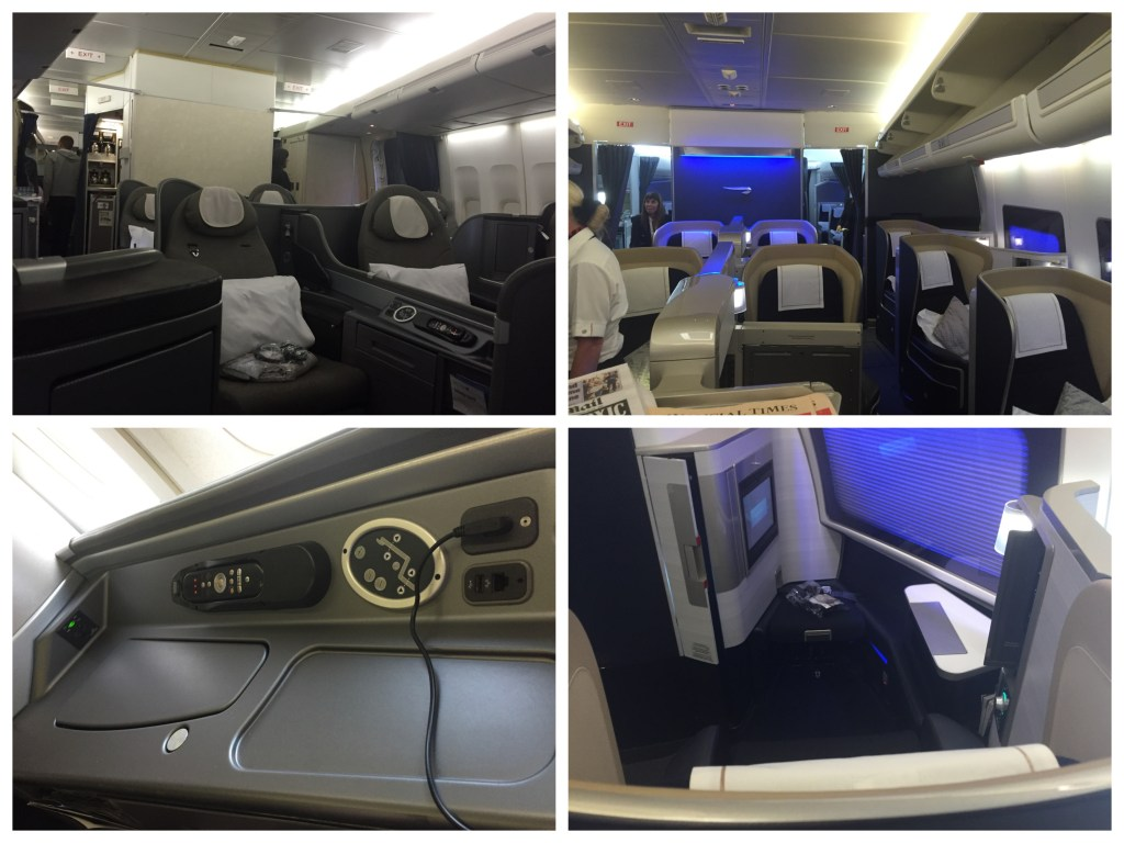 Cabin and Seating UA BA