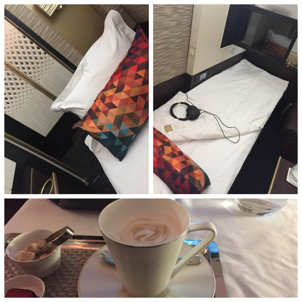 Etihad A380 Bed