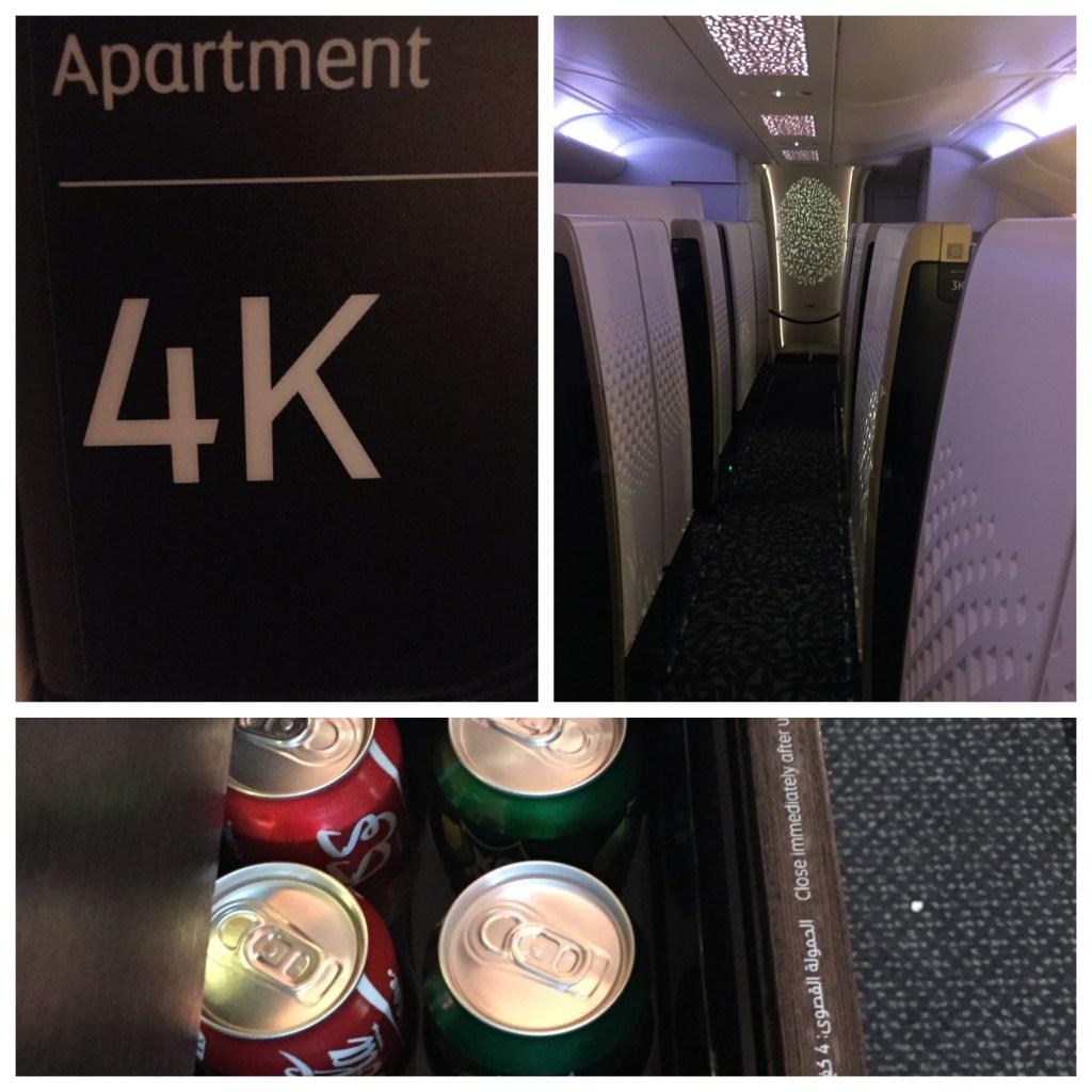 Etihad A380 Cabin
