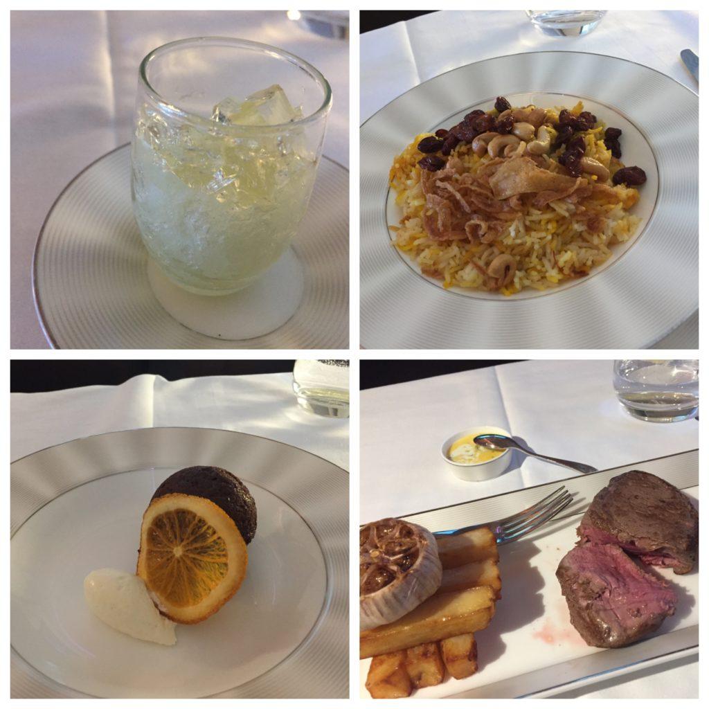 Etihad A380 Food 2