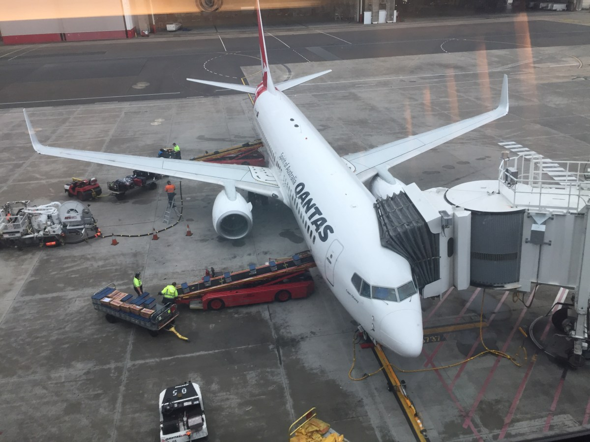 QANTAS: Sydney to Melbourne, A330, Business Class