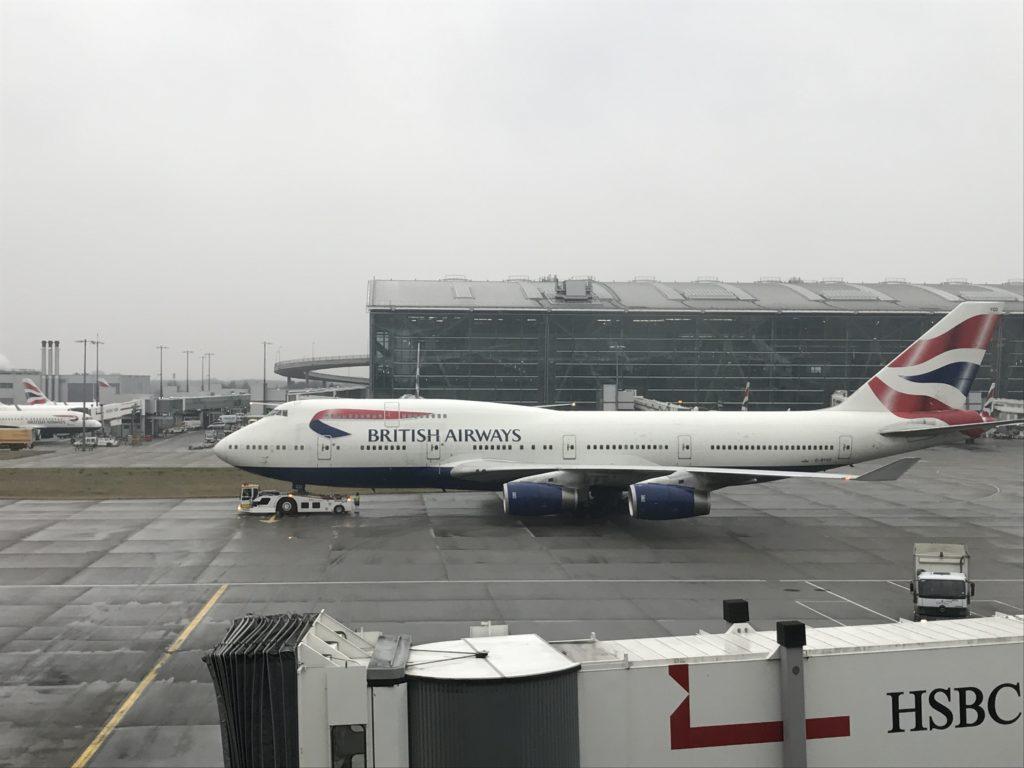 BA747-400 LHR