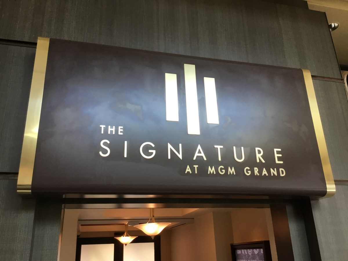 REVIEW: Signature at MGM Grand, Las Vegas