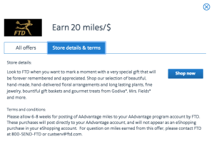Check out how 20x miles could be waiting for you by going through a portal shopping site.