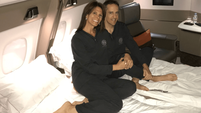 We cashed in American Express Membership Rewards and Chase Ultimate Rewards points to fly the new First Class Suites on Singapore Airlines from Zurich to Singapore.