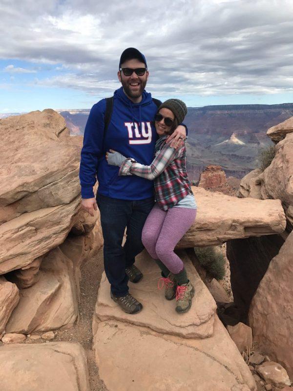 Couple at Grand Canyon