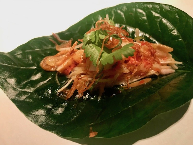 Eating at Nahm Bangkok: Balancing Classic Cultures and Thai Street Food