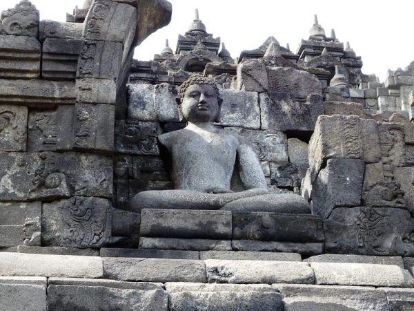 Borobudur Temple outside Yogyakarta