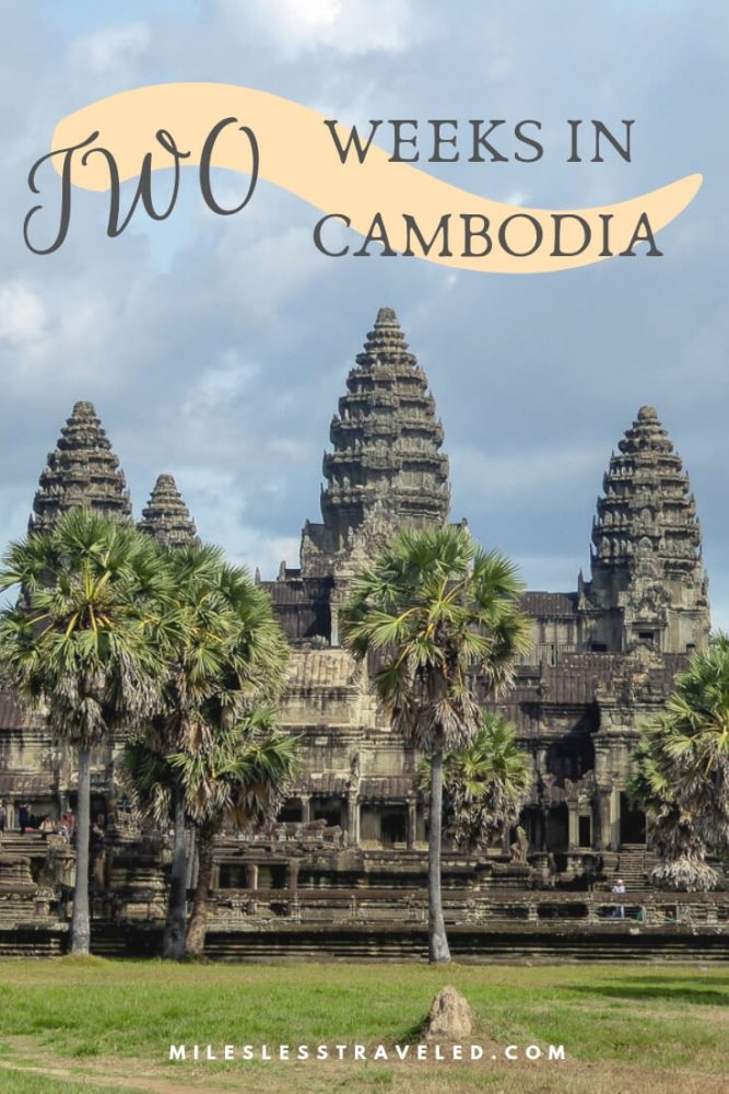 two weeks in Cambodia Itinerary