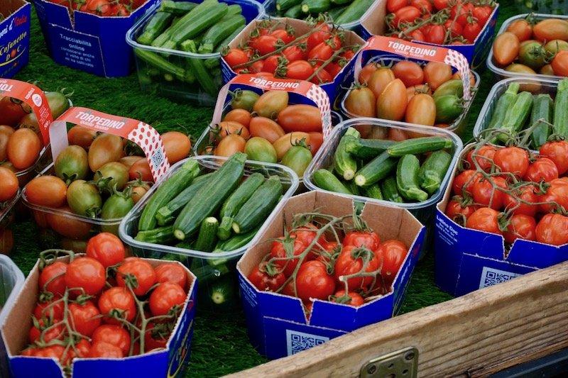 Produce stand at Campo De Fiori