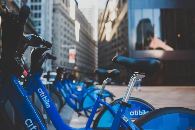 Citibikes in NYC