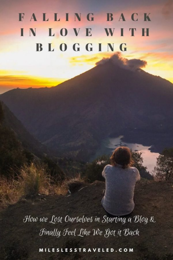 Falling Back in Love with Travel Blogging