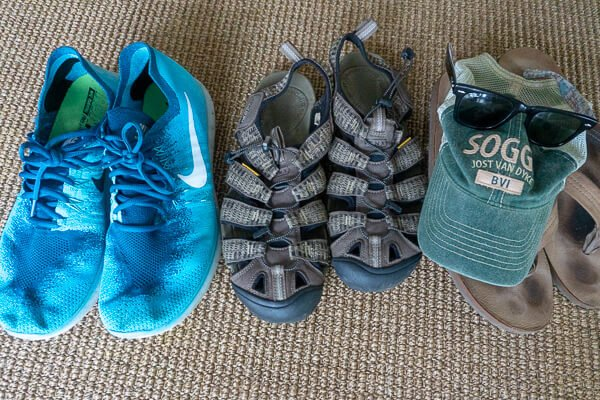 Men's Shoes for Hot Weather Travel