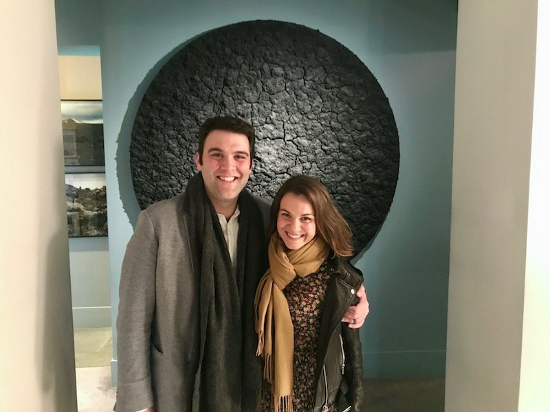 Couple at Osteria Francescana