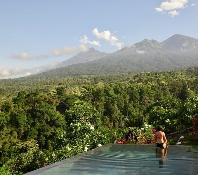 Rinjani Lodge Lombok Pool