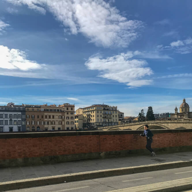 Running In Florence | 3 Miles Of Architecture, City Views, & History