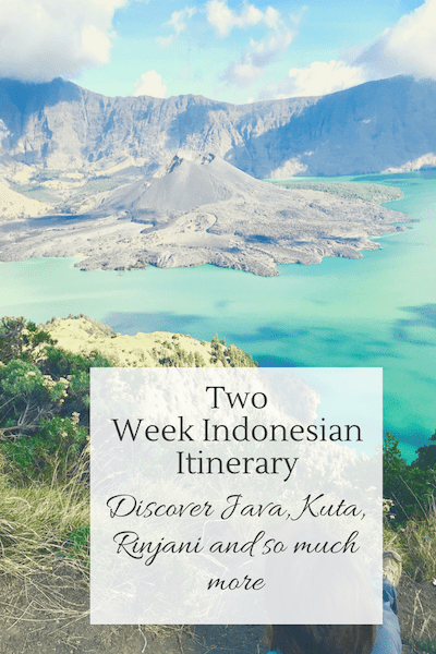 A Two Week Indonesia Itinerary