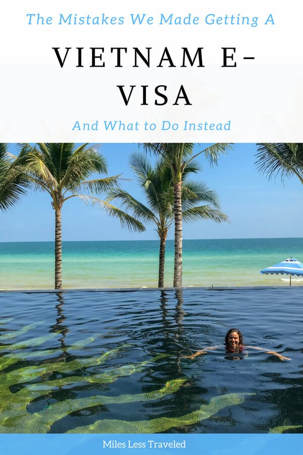 The Mistakes we Made Getting a Vietnam E-Visa and What to do instead