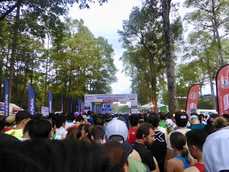 Long Wait before the half-marathon