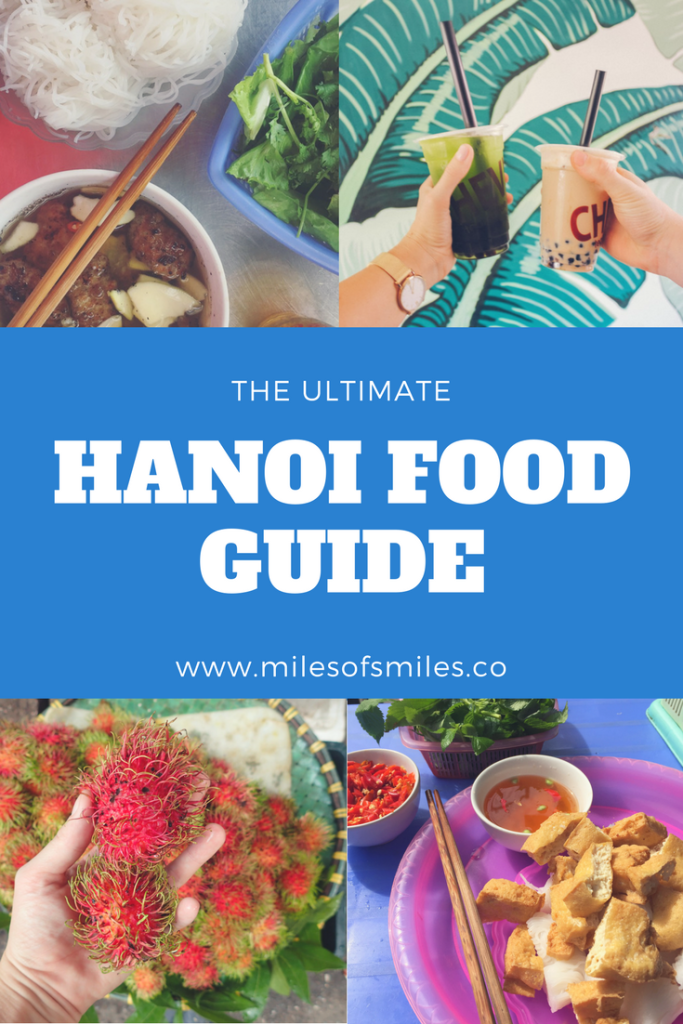 Complete Guide to Food In Hanoi!