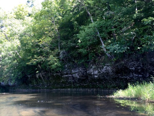 Kickapoo River West Fork