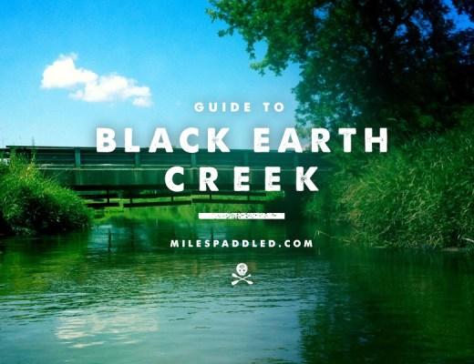 Black Earth Creek Paddle Guide