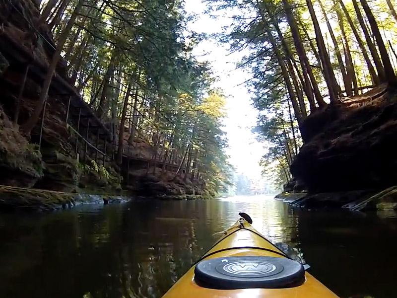 Wisconsin River Upper Dells