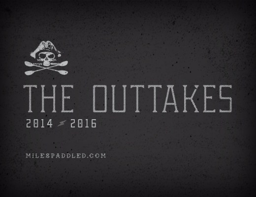 2016 Miles Paddled Outtakes