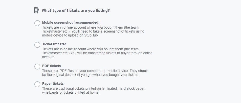photo relating to Stubhub Printable Tickets named Stubhub consists of excess a cell screenshot ticket add possibility