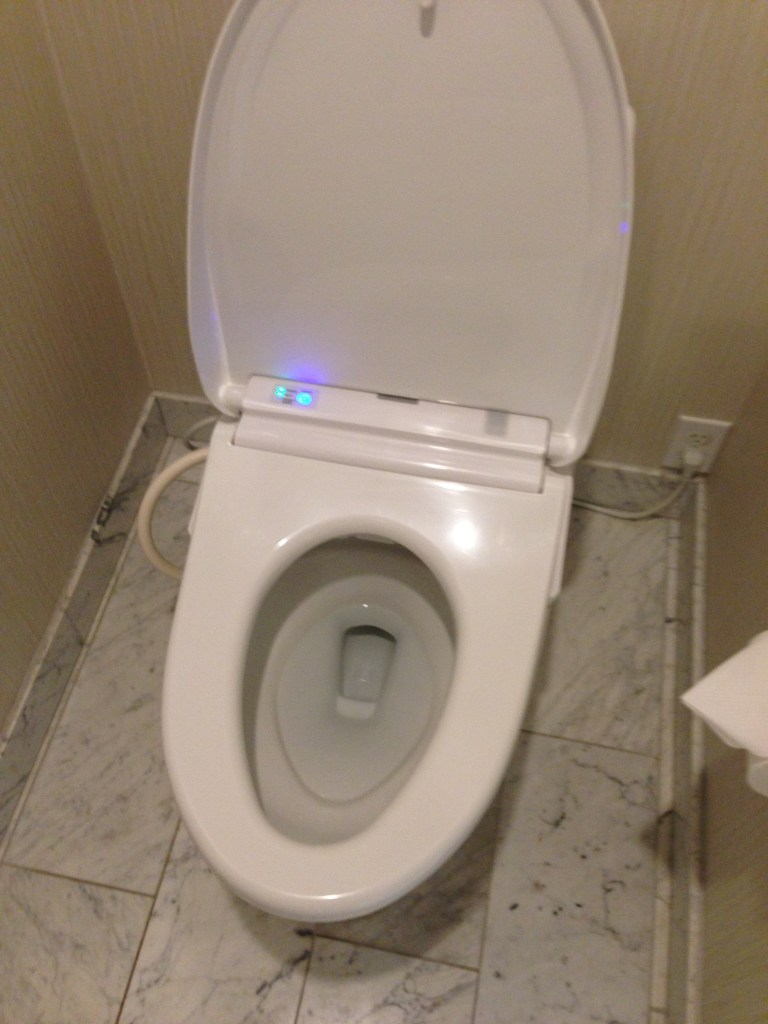 the supersonic toilet