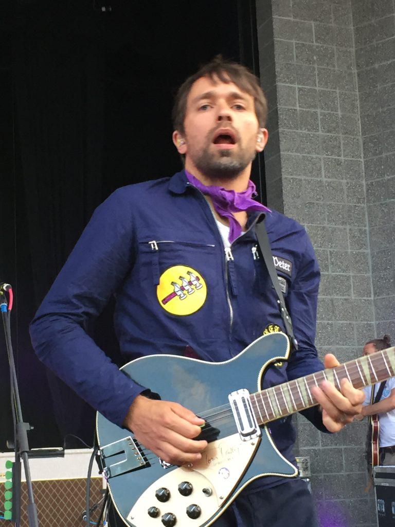 Peter Moren, the lead singer