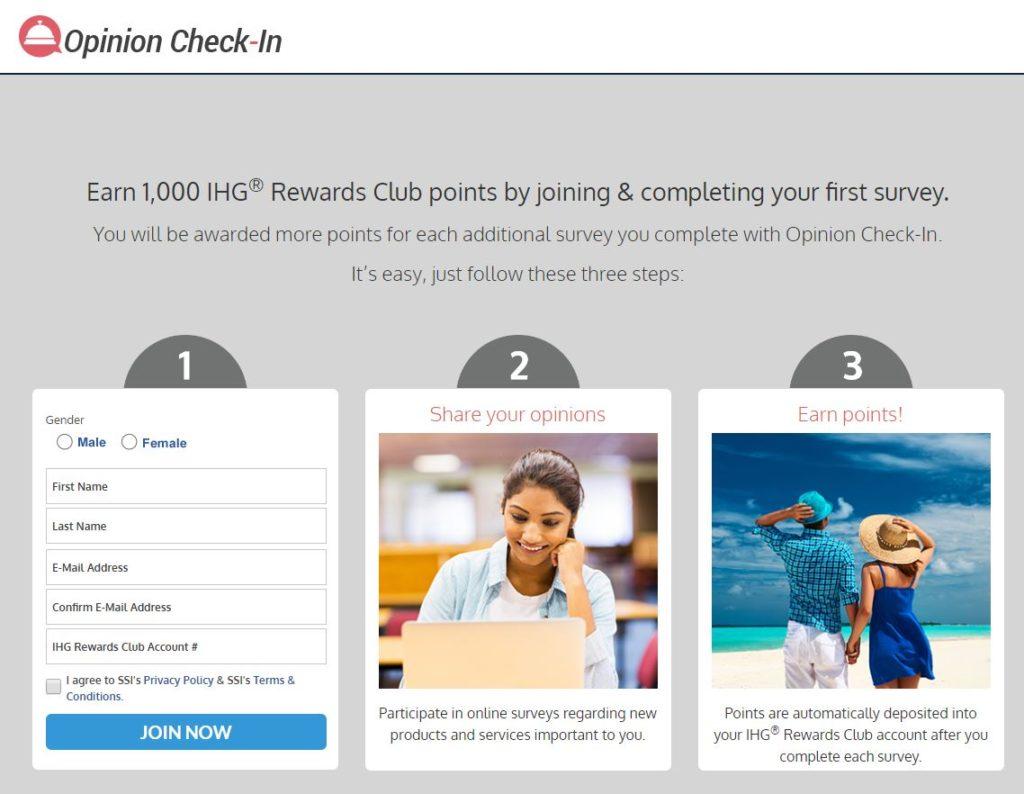 Free IHG Rewards Club points