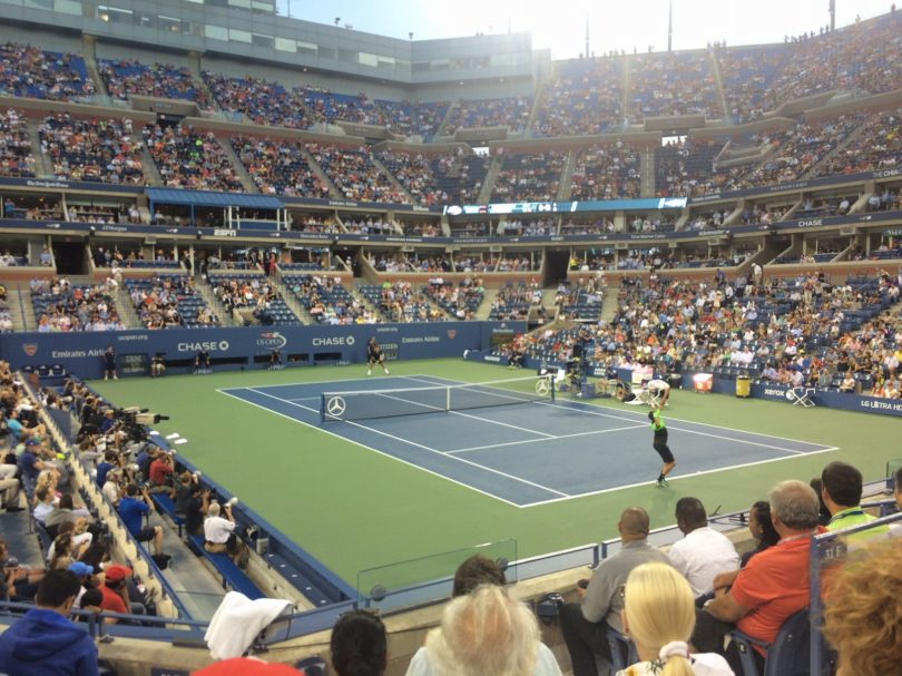 US Open Courtside Seats - SPG Moments