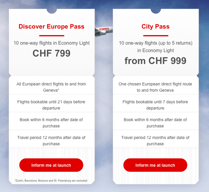 Swiss Flight Pass