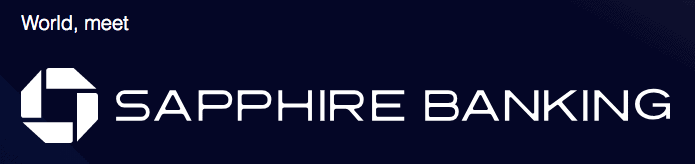 Chase Sapphire Banking