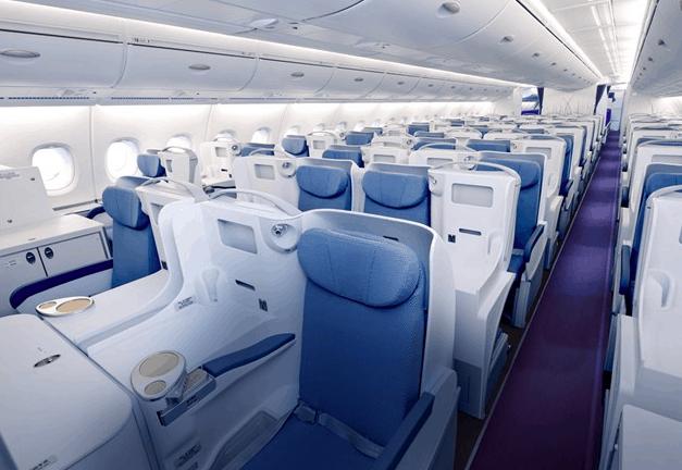 China Southern A380 Business Class