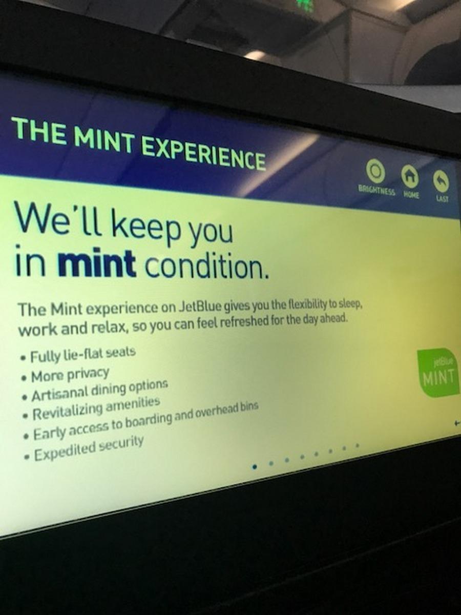 JetBlue Mint Review