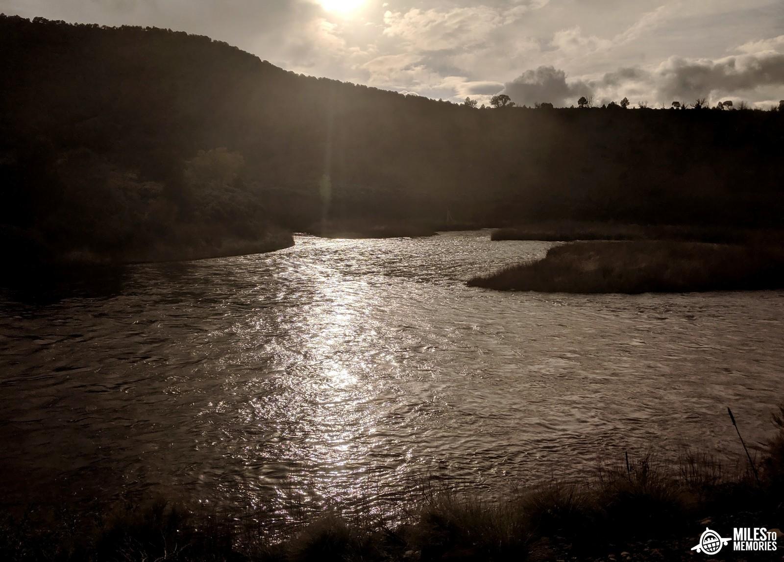 Amtrak California Zephyr Delays Colorado River