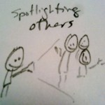 b) Spotlighting Others