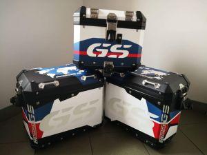 okleiny kufrów bmw r1250 gs