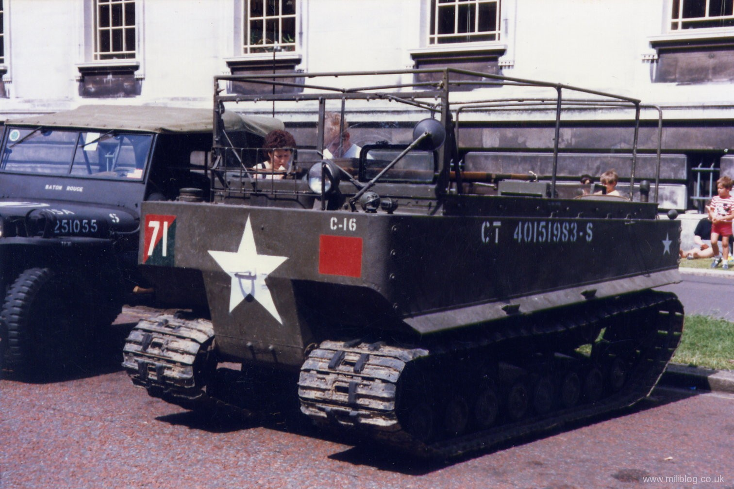 hight resolution of m29 weasel tracked cargo