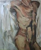 """Torso"", 2011 Oil on canvas 100x120cm"