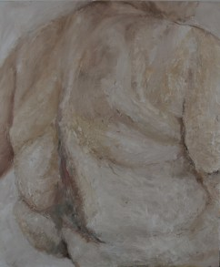 """""""Nena"""", 2012 Oil and wax on canvas 50x60cm"""