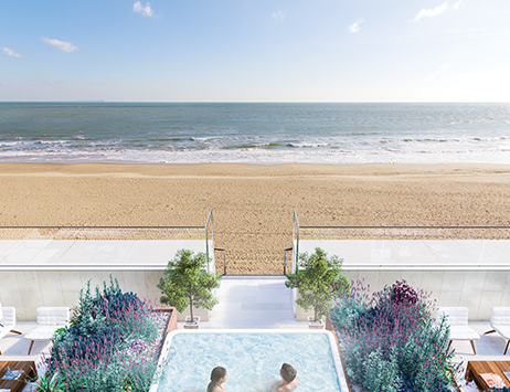 Private Beach Terrace