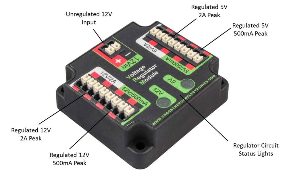 medium resolution of the voltage regulator module